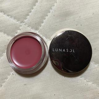 ルナソル(LUNASOL)の【新品】LUNASOL ルナソル クリーミィチークス&リップス(チーク)