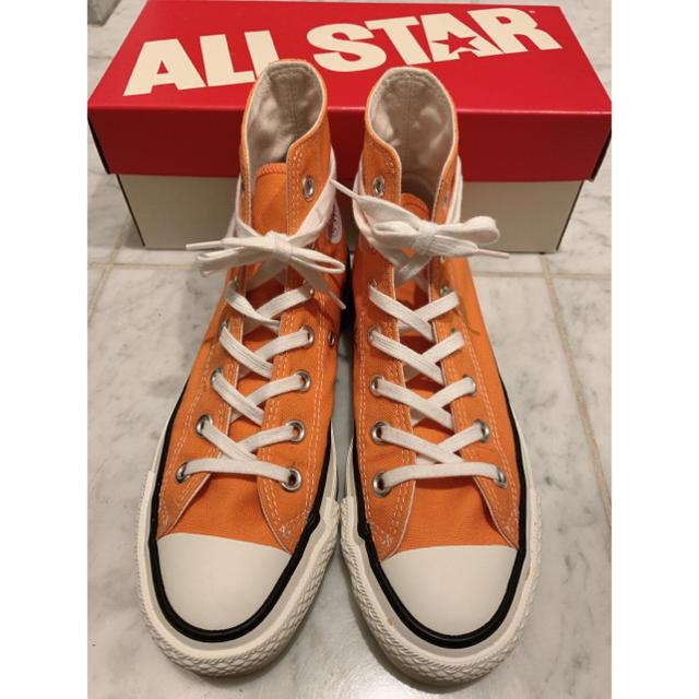 CONVERSE(コンバース)のコンバース キャンバス オールスター 23.5cm US4 1/2 オレンジ レディースの靴/シューズ(スニーカー)の商品写真