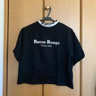 ウィゴー(WEGO)のTシャツ WEGO ウィゴー ロゴシャツ ブラック フリーサイズ(シャツ/ブラウス(半袖/袖なし))