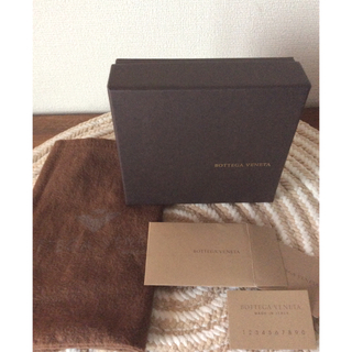 ボッテガヴェネタ(Bottega Veneta)の〜ボッテガヴェネタ財布〜箱のみ(ショップ袋)