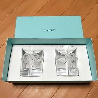 Tiffany & Co. - ティファニー リボンクリスタル ペア ボウグラス