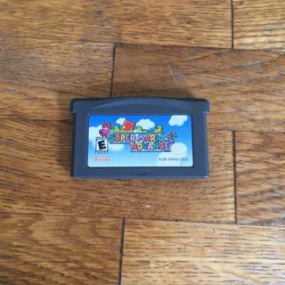 ゲームボーイアドバンス(ゲームボーイアドバンス)の北米版 スーパーマリオアドバンス(携帯用ゲームソフト)