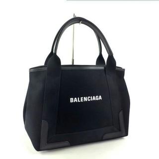 Balenciaga - 【BALENCIAGA】NAVY CABAS S トート ブラック