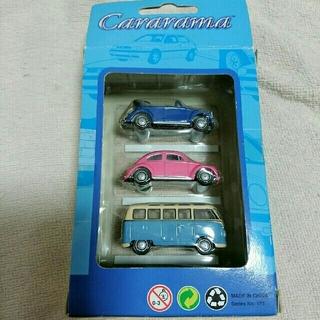 フォルクスワーゲン(Volkswagen)のcararama vw 1/72スケール ダイキャスト ミニカー 3台 (ミニカー)