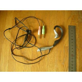 バッファロー(Buffalo)のBUFFALO BMH-E02/SV 片耳タイプ(イヤフォン/マイクロフォン)(ヘッドフォン/イヤフォン)