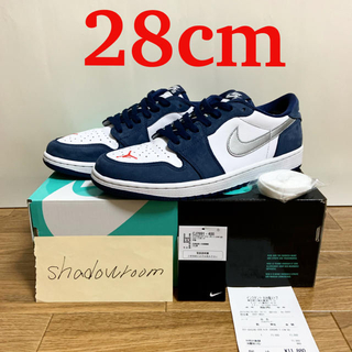 NIKE - SB Air jordan1 Low US10 28 dunk