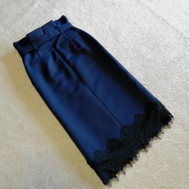 JILLSTUART(ジルスチュアート)のジルスチュアート∗裾レーススカート アナイ/ジャスグリッティー/ノエラ/エポカ レディースのスカート(ひざ丈スカート)の商品写真