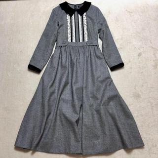 JaneMarple - Jane Marple ジェーンマープル 未使用ブリティッシュウールのドレス