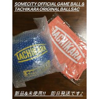 SOMECITY GAME BALL TACHIKARAボールサック付き
