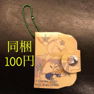 ドナルドダック - Disney ドナルド  ブック型ミニメモ帳キーホルダー