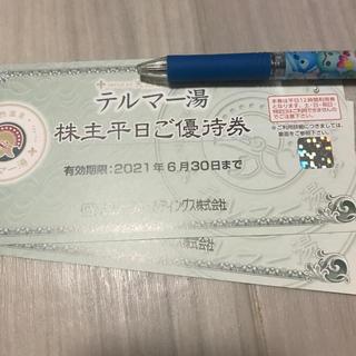 テルマー湯 平日優待券2枚