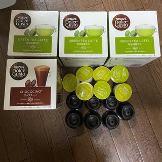 ネスレ(Nestle)のネスカフェ 宇治抹茶 チョコチーノ カプチーノ セット(コーヒー)