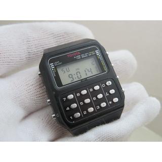 カシオ(CASIO)のCASIO×TOYOTA カリキュレーター CA-86 レア 【C-80タイプ】(腕時計(デジタル))