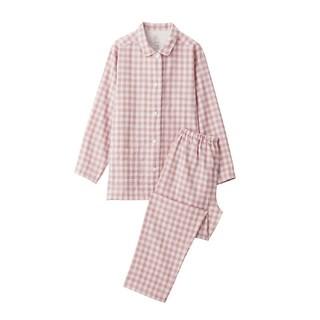 MUJI (無印良品) - 脇に縫い目のない 二重ガーゼパジャマ