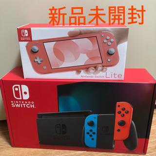 ニンテンドースイッチ(Nintendo Switch)のNintendo Switch 本体、Nintendo Switch Lite(家庭用ゲーム機本体)
