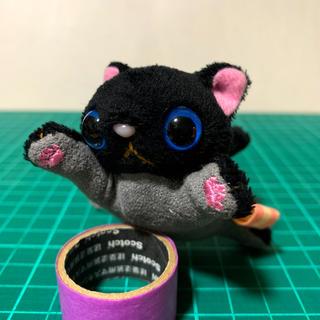猫 ストラップ(キーホルダー/ストラップ)