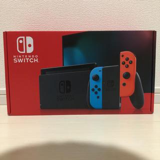 Nintendo Switch - 新品未開封 Nintendo Switch本体 ネオンブルー/ネオンレッド