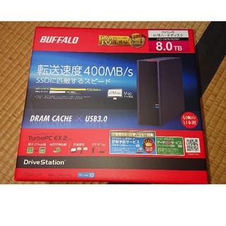 バッファロー(Buffalo)のスイほー様専用  HD-GD8.0U3D(PC周辺機器)
