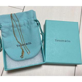 Tiffany & Co. - ティファニー バイザヤード イエローゴールド YG ネックレス