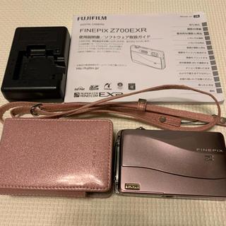 フジフイルム(富士フイルム)の【おまけ付き】FinePix Z FINEPIX Z700EXR PINK(コンパクトデジタルカメラ)