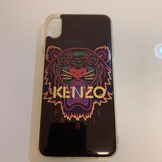 ケンゾー(KENZO)のKENZO iPhone XS MAX(iPhoneケース)