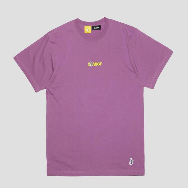 VANQUISH(ヴァンキッシュ)のFR2 XLARGEコラボTシャツ ラベンダー XL メンズのトップス(Tシャツ/カットソー(半袖/袖なし))の商品写真