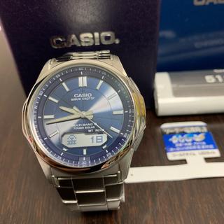 カシオ(CASIO)のCASIO(ソーラー電波)腕時計(腕時計(アナログ))