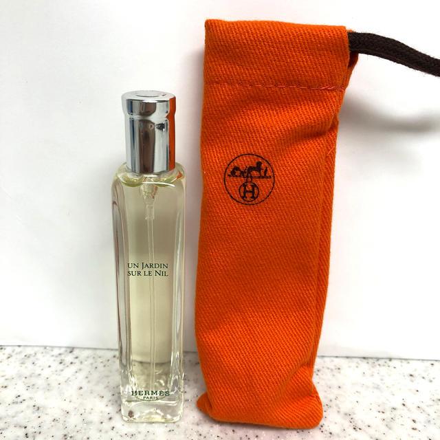 Hermes(エルメス)の新品エルメス香水  ナイルの庭15ml(ポーチ付)1本 コスメ/美容のコスメ/美容 その他(その他)の商品写真
