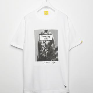 ヴァンキッシュ(VANQUISH)のFR2 KOSUKE KAWAMURAコラボTシャツ XL モスケイト(Tシャツ/カットソー(半袖/袖なし))