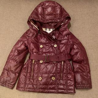 BURBERRY - バーバリー ダウン コート ジャケット 8歳 128㎝
