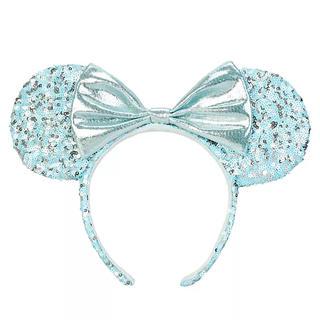 Disney - 即購入OK❗️上海ディズニー アレンデールアクア  アナと雪の女王のカチューシャ