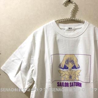 WEGO - セーラームーン × WEGO Tシャツ セーラーサターン 土萠ほたる