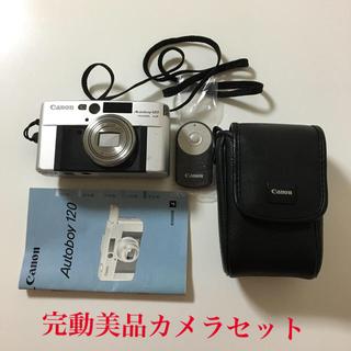 Canon - 完動美品  Canon Autoboy 120 カメラセット