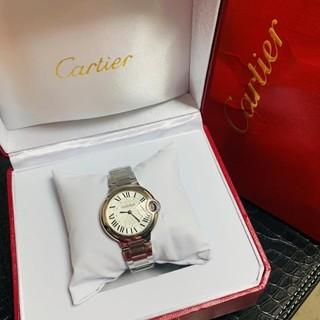 Cartier - カルティエ cartier レディース腕時計33mm クオーツ時計