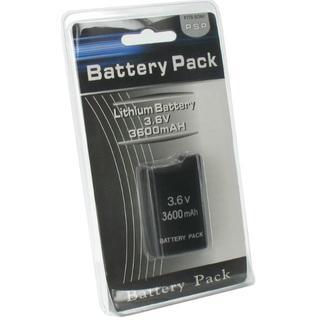 パッケージ品 PSP1000 大容量3600mAh バッテリー 電池(その他)