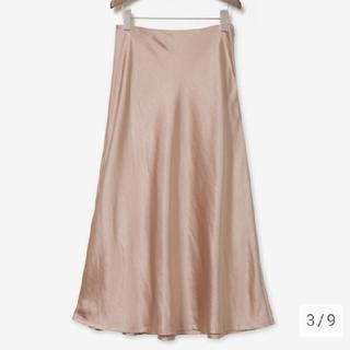 PLST - プラステ 新品未使用 サテンスカート