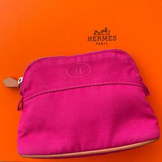 Hermes - 【美品】エルメス ポーチ ボリードミニ 15 ピンク