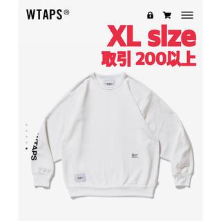 W)taps - WTAPS LLW CREW NECK WHITE XLサイズ 20FW