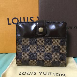 LOUIS VUITTON - ルイヴィトン ダミエ 折り財布 財布 格安 確実正規品 早い者勝ち