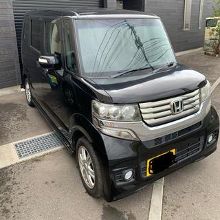 ホンダ - N-BOX カスタム G-LPKG 黒 102000キロ