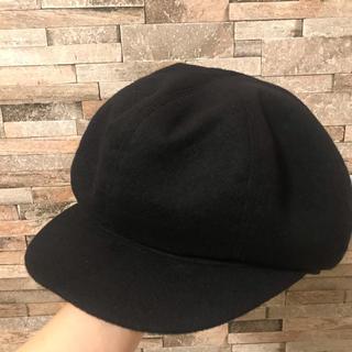 エルメス(Hermes)のHERMES カシミヤキャスケット 帽子 キャップ レディース57(キャスケット)