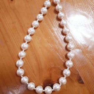 コットンパール ネックレス パール 真珠 結婚式(ネックレス)