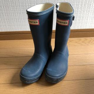 HUNTER - HUNTER レインブーツ 長靴 17cm キッズ