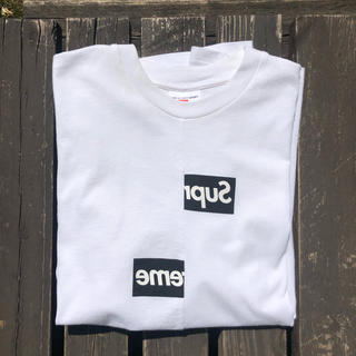 Supreme - Supreme Split Box Logo Tee
