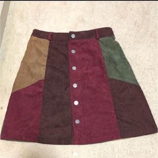 ギャップ(GAP)のパッチワーク スカート(ひざ丈スカート)