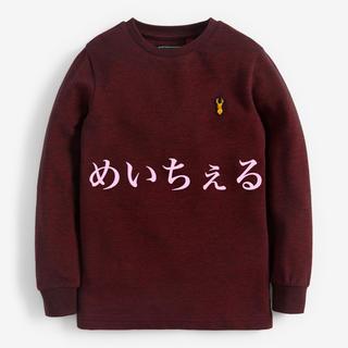 ネクスト(NEXT)の【新品】next ベリー ピケ長袖Tシャツ(オールド)(Tシャツ/カットソー)
