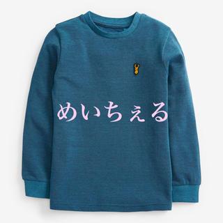 ネクスト(NEXT)の【新品】next ティール ピケ長袖Tシャツ(オールド)(Tシャツ/カットソー)