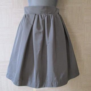 バーニーズニューヨーク(BARNEYS NEW YORK)のバーニーズ ニューヨーク 黒 スカート 38 日本製(ミニスカート)