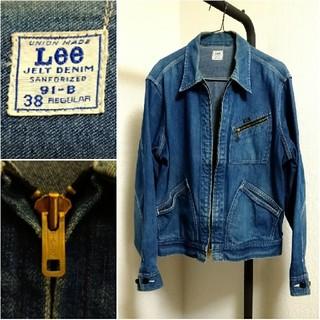 リー(Lee)のLee リー 91-B デニムジャケット ワークジャケット talon ンテージ(Gジャン/デニムジャケット)