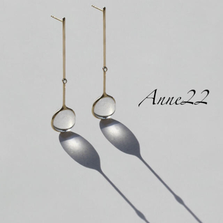 DEUXIEME CLASSE - Diamond 46 Drops Earrings. 新作✨水晶 クリスタル
